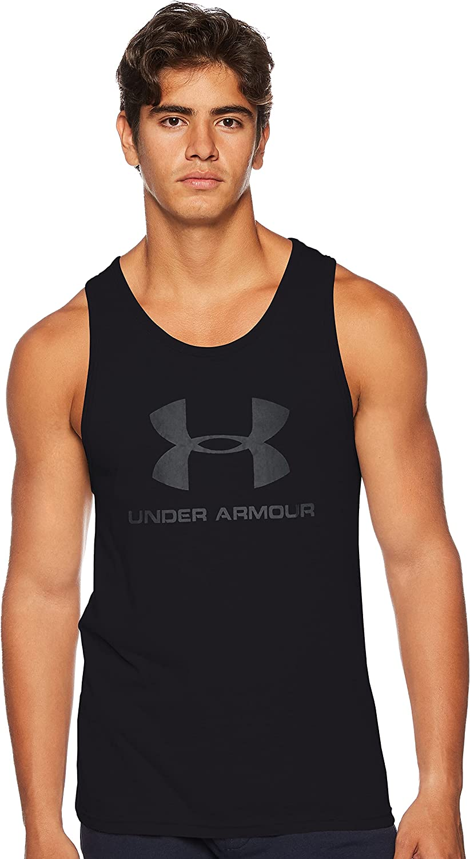 Under Armour Men's Sportstyle Logo Tank : Sports & Outdoors