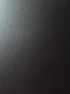 Onyx Black Stardream Metallic Cardstock Paper - 8.5 X 11 inch - 105 lb. / 284 GSM Cover - 25 Sheets from Cardstock Warehouse