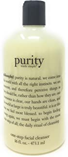philosophy purity made simple, one-step facial cleanser 16 fl oz (473.1 ml)