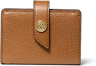 MICHAEL Michael Kors Charm Small Tab Card Case Luggage One Size