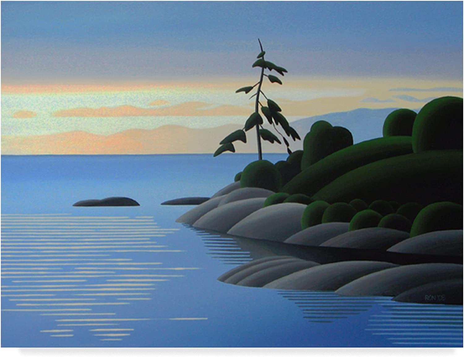 Gonzales Bay Morning by Ron Parker, 14x19Inch