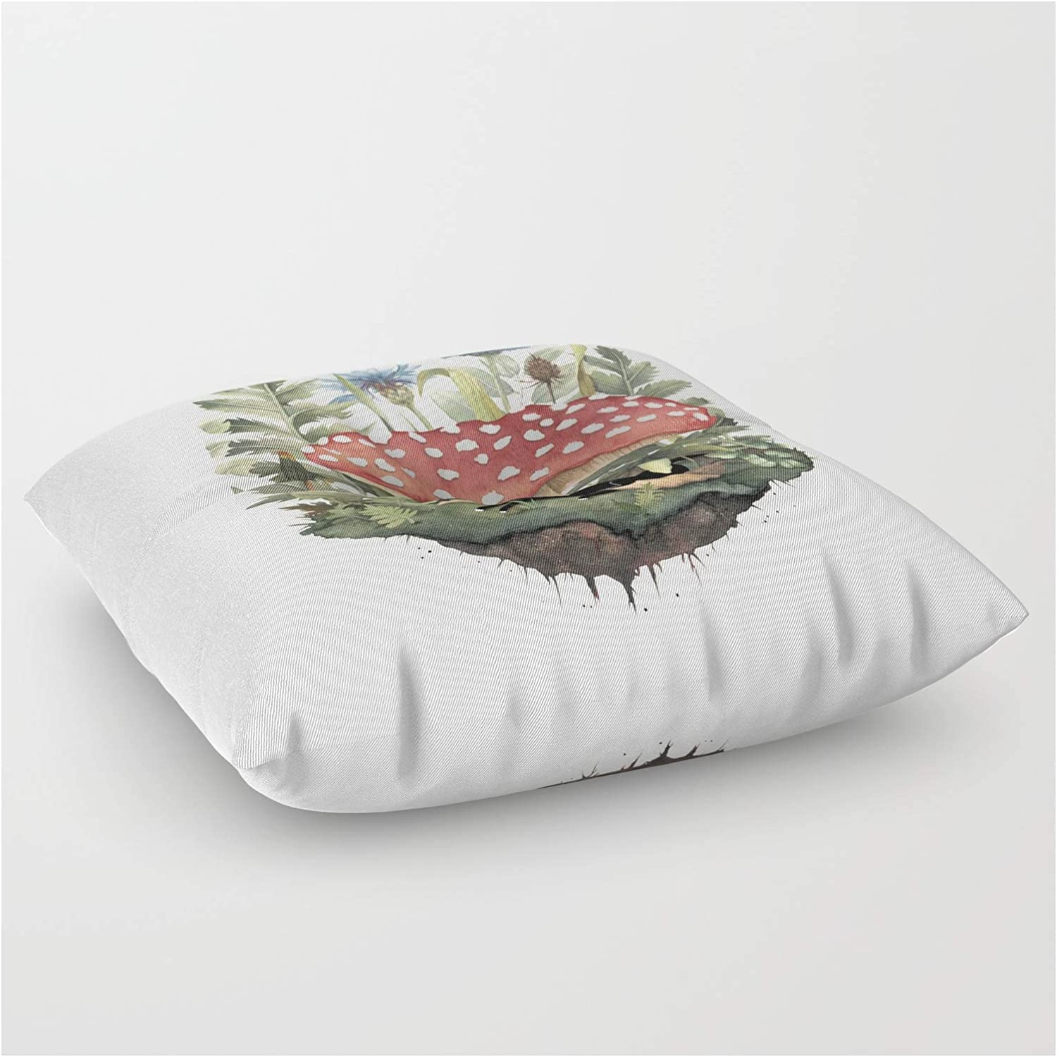 Society6 Tiny Unicorn by Littleclyde Square Max 81% OFF on Floor - Some reservation Pillow