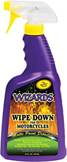 Wizards 22220 Wipe Down Motorcycle Matte Finish Detailer - 22 oz.