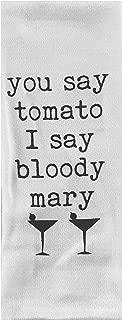 You Say Tomato I Say Bloody Mary Tea Towel