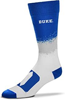 For Bare Feet Men's NCAA Marquee Crew Dress Socks- Size -Large(10-13)