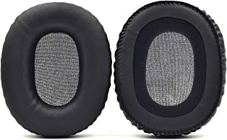 Defean Replacement Ear Pads Cushion earpads Pillow Cover for Marshall Monitor Over-Ear Stereo Headphones