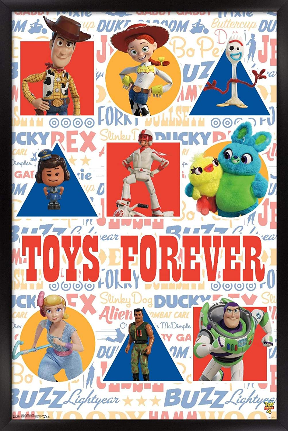 Trends International Disney Pixar Toy Story Poster - Grid Wall Ranking TOP19 Max 64% OFF 4