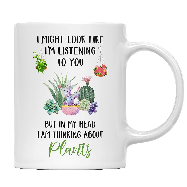 FWU Handmade I Am Thinking supreme About Best - Mug Coffee Plants Gifts Minneapolis Mall