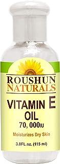 Roushun Naturals Vitamine E Oil 70,000IU - 3.8FL oz -115ml