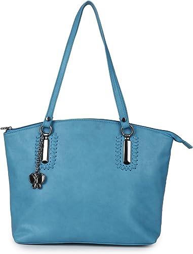 Women Handbag Sky Blue BNS 0657SBL