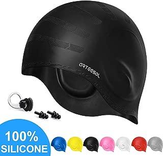 arteesol Swim Cap, Swimming Caps for Women Mens Silicon...