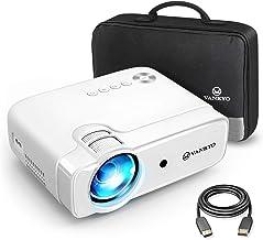 VANKYO Leisure 430 Mini Beamer, 4500 Lux Heimkino Beamer, Support 1080P Full HD mit 60000..
