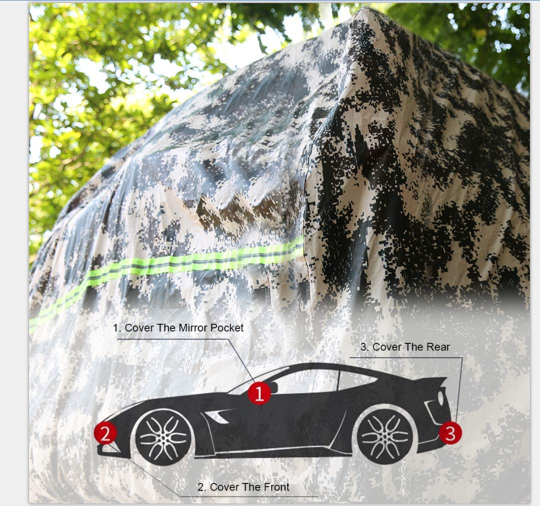 TJ 2 Doors YJ CJ JL BORDAN Jeep Car Cover All Weather Protection Waterproof SUV Cover Fit for Jeep Wrangler 1987-2019 JK