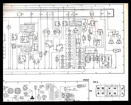toyota schematic diagrams toyota corolla 1980 model wiring diagram  instrument panel diagram  toyota corolla 1980 model wiring