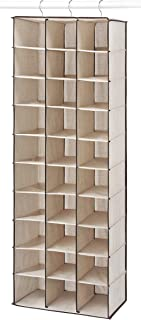 Whitmor Hanging Shoe Shelves - 30 Section