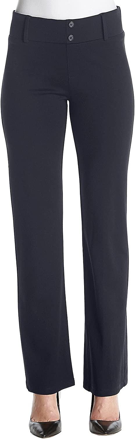 Amy Byer AGB Women's Perfect Ponte Pant