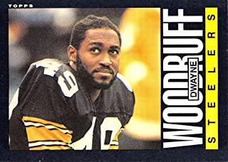 Football NFL 1985 Topps #366 Dwayne Woodruff #366 EX Steelers