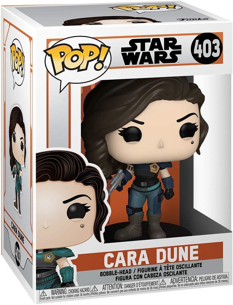 The Mandalorian Cara Dune Funko Pop Vinyl Star Wars 403 Figure UK Gina Carano