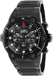 """Invicta""""Star Wars"""" Reloj de cuarzo de acero inoxidable para hombre, color: negro (Modelo: 26207)"""
