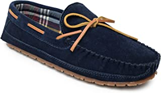 Sperry Men's Trapper Moccasin Slippers with Berber Lining