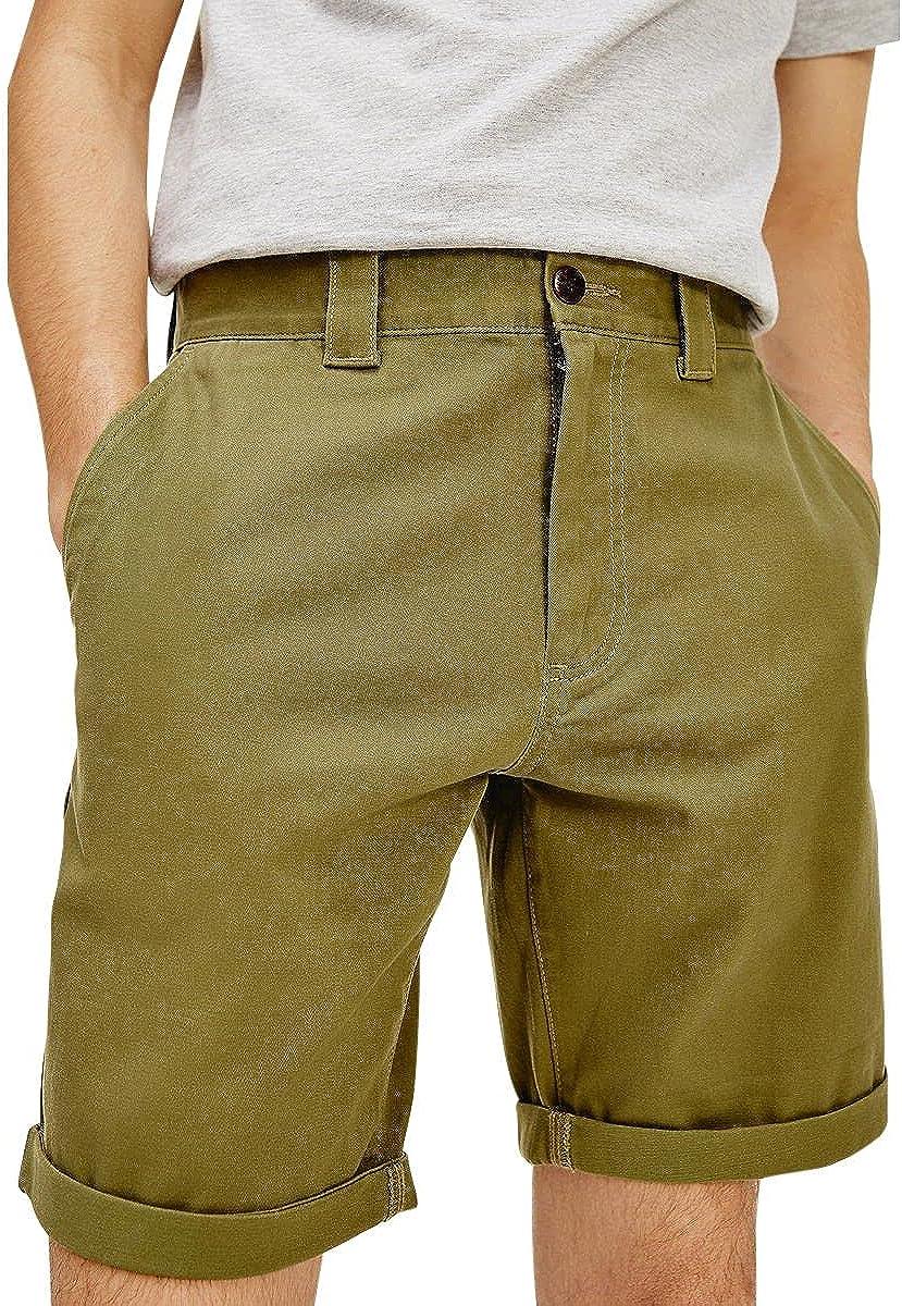 Tommy Hilfiger Pantalones cortos de tela Tjm Scanton Chino DM0DM11076