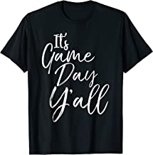 It's Game Day Y'all Shirt Southern Sports T-Shirt for Women