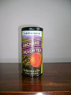 The Republic of Tea, Orchard Peach (Harry & David), 50-count
