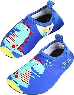 Zapatos de Agua Baby Girl Girl, Zapatos de natación de Calcetines Aqua Swim Calzados Descalzos para Piscina de Playa