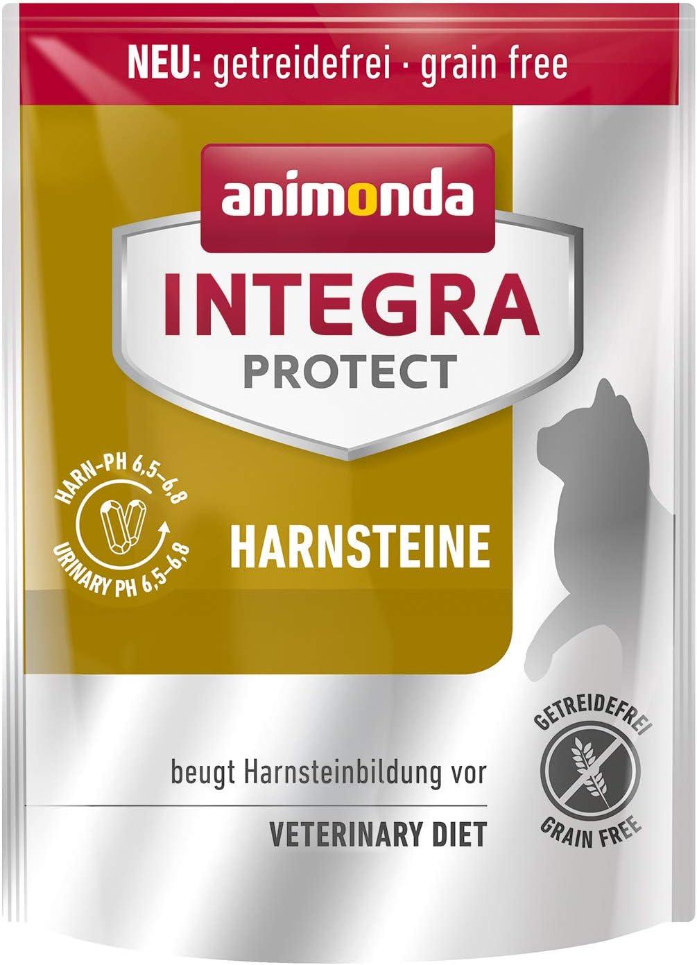 animonda Integra Protect para cálculos urinarios, comida especial para gatos, pienso para la prevención de infecciones urinarias