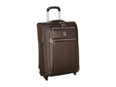 Travelpro Platinum(r) Elite 22 Expandable Carry-On Rollaboard (Rich Espresso) Luggage