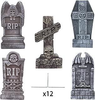 foam tombstones