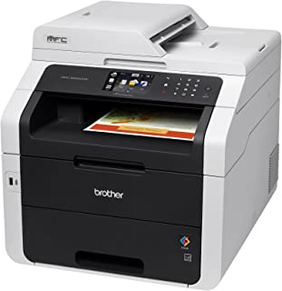 Brother MFC-9330CDW All-in-One Color Laser Printer, Scanner, Copier, and Fax, Duplex Printing, Wireless Networking, Mobile Device Printing, Scanning – Amazon Dash Replenishment Enabled