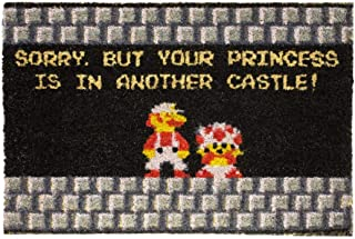 getDigital Your Princess is in Another Castle Funny Welcome Doormat for Gamers, Nerds and Geeks - 23.62 x 15.75 inch, 100% Natural Coco Coir Fibres