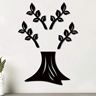 Art Street Tree Shape MDF Plaque Painted Cutout Ready to Hang Home Décor, Wall Décor, Wall Art,Decorative MDF Plaque for H...