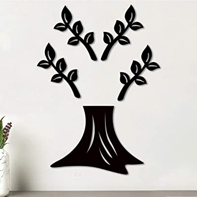 Art Street Tree Shape MDF Plaque Painted Cutout Ready to Hang Home Décor, Wall Décor, Wall Art,Decorative MDF Plaque for Home & Wall Decoration