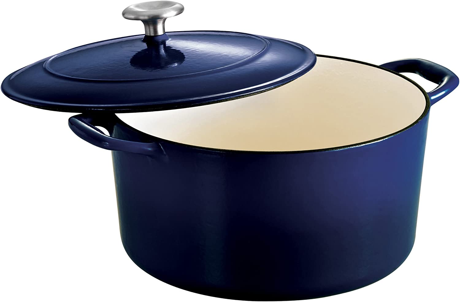 Tramontina Covered Round Dutch Oven 6.5-Quart Iron Max 80% OFF Enameled Super special price Cast