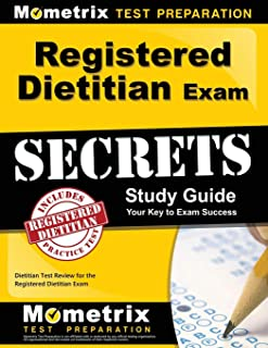 Registered Dietitian Exam Secrets Study Guide: Dietitian Test Review for the Registered Dietitian Exam (Mometrix Secrets Study Guides)