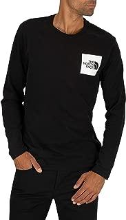 The North Face Men's Fine Longsleeved T-Shirt, Black, XXL