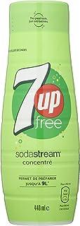Sodastream 7 UP fria koncentrat 440 ml förpackning med 6