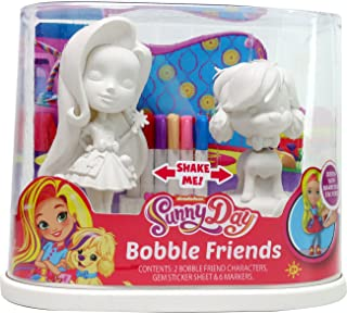 Tara Toys 94721 Nickelodeon Sunny Day Bobble Friends Arts and Crafts Kit (9 Piece)