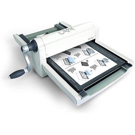 Sizzix Big Shot Pro, machine de découpe et de gaufrage manuelle format A3 (Ouverture de 33cm) avec accessoires standards et poinçon pour matrice.