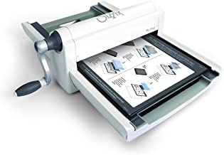 Sizzix Die Machine with Standard, Crease Pad 660550 Manual Cutting and Embossing, 13 in (33 cm) Opening, Big Shot Pro with Extended Accessories