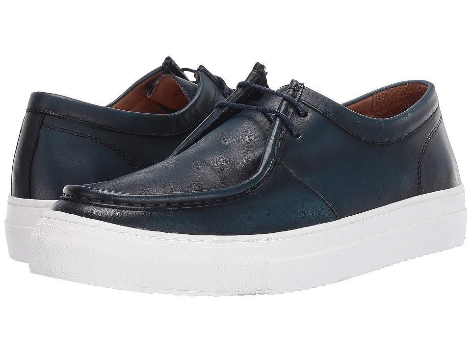 Gold & Gravy Rae Sneaker (Petroleo Blue Leather) Men