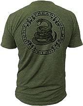 Don't Tread On Me - Militia - Men's T-Shirt DTOM Clothing