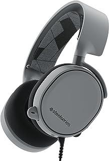 SteelSeries Arctis 3 (Edición Legado) - Auriculares para juego, PC, Mac, PlayStation 4, Xbox One, Nintendo Switch, Móvil, VR, color Gris
