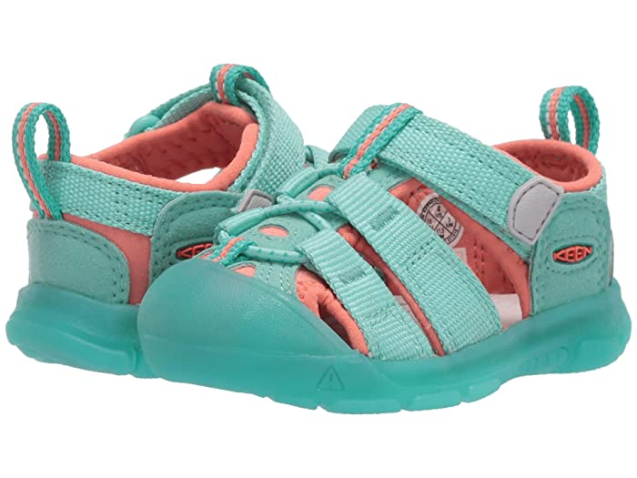 Keen Kids  Newport H2 (Toddler) (Cockatoo/Coral) Girls Shoes