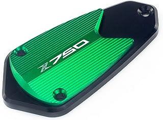 Color : Front And Rear Black Cilindro del Motociclo Frontale Frontale Freno a combustibile Fluido Serbatoio Serbatoio Cappuccio del Serbatoio Alluminio//Adatta per Benelli Leoncino 500 BJ500