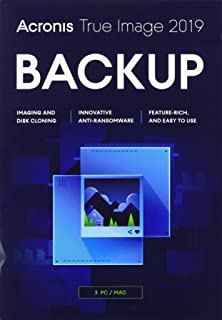 Acronis True Image 2019 Box 3 Computers Perpetual (UK)