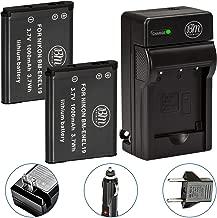 BM 2 EN-EL19 Batteries and Charger for Nikon Coolpix A300, W100, W150, S33, S100, S3100, S3200, S3300, S3500, S3600, S3700, S4100, S4200, S4300, S5200, S5300, S6400, S6500, S6800, S6900, S7000 Cameras