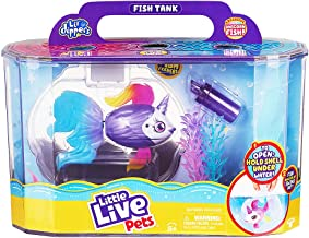 Little Live Pets Lil' Dippers Playset - Magical Water Activated Unboxing and Interactive Feeding Experience - Exclusive Un...